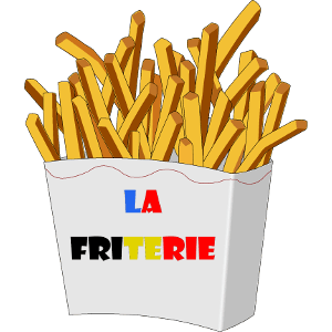 creation logo friterie
